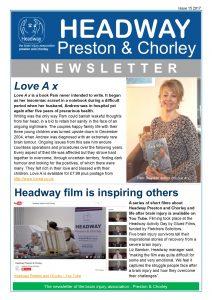 Headway Preston & Chorley Newsletter Edition 15 240417 HYP