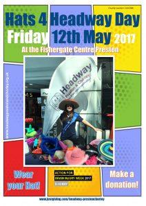 Hats 4 Headway Preston & Chorley 2017.pub
