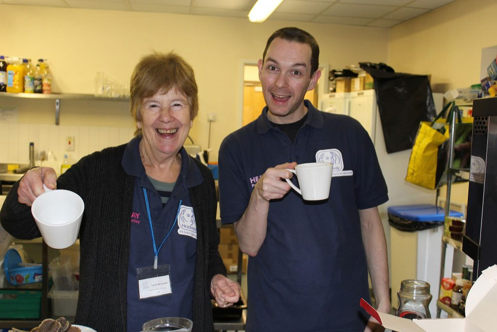 Headway Preston and Chorley volunteers